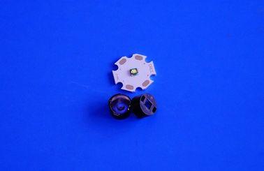 最も小さい 30/45/60/90 程度のビードの表面の 3535 LED 1w 3w 光学レンズ